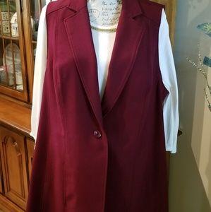 SUSAN GRAVER Tailored vest